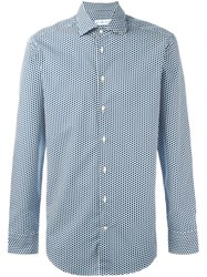Etro Dot Print Shirt White
