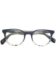 Paul Smith 'Theydon' Glasses Blue