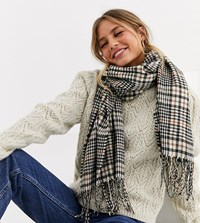 New Look Heritage Check Scarf Multi