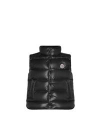 Moncler Tib Quilted Puffer Vest Black