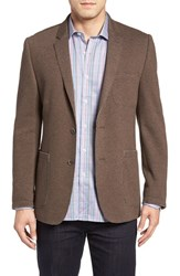 Bugatchi Men's Cotton Blend Sport Coat Truffle