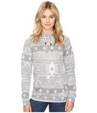 O'neill Abby Fleece White All Over Print Women's Fleece