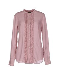 Fred Perry Shirts Shirts Women Pastel Pink