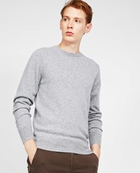 Aspesi Cashmere Roundneck Sweater Light Grey