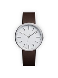 Uniform Wares M37 Precidrive Three Hand Watch Brown
