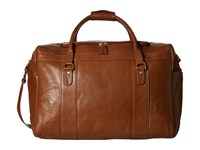 Scully Hidesign Luxury Getaway Oversized Duffel Bag Tan Duffel Bags