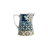 Nordal Patchwork Jug Blue Small