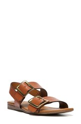 Sarto By Franco Sarto Women's Gannon Slingback Buckle Sandal New Tan Leather