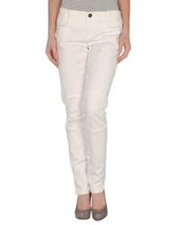 Ilary Denim Pants White