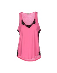 Juicy Couture Tank Tops Fuchsia