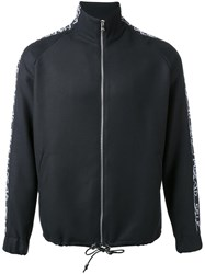 Selfmade By Gianfranco Villegas Zipped Track Jacket Black