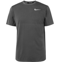 Nike Running Zonal Cooling Relay Dri Fit Mesh T Shirt Charcoal
