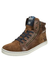 Tom Tailor Hightop Trainers Cognac Brown