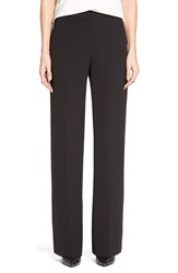 Petite Women's Halogen Wide Leg Pants Black