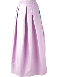 Dsquared2 Draped Maxi Skirt Pink And Purple