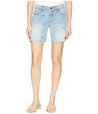 Sam Edelman The Derby Shorts In Fannie Fannie Blue