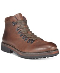 Kenneth Cole Reaction Men's Climb The Rope Alpine Boots Men's Shoes Dark Brown
