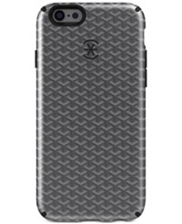 Speck Candyshell Inked Luxury Edition Phone Case For Iphone 6 6S Plus Woven Geo Charcoal Black