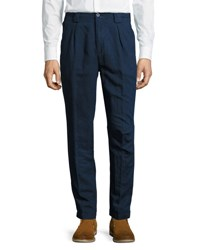 Etro Panama Fit Dark Rinse Denim Pants Blue