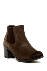 Manas Design Casual Suede Boot Brown