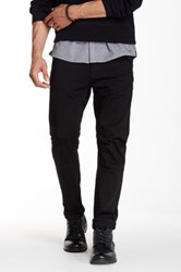 Kenneth Cole Slim Fit Knit Moto Jean 29 34 Inseam Black