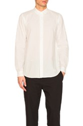 Robert Geller The Long Sleeve Dress Shirt In White