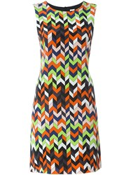M Missoni Geometric Print Dress Multicolour