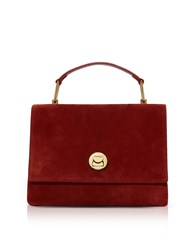 Coccinelle Handbags Liya Suede Satchel Bag