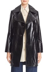 Simon Miller Women's 'Bowa' Double Breasted Leather Jacket