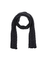 Kangra Cashmere Oblong Scarves Grey