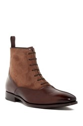 Mezlan Lace Up Boot Brown