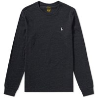 Polo Ralph Lauren Long Sleeve Custom Fit Tee Black