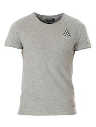 Red Soul T Shirt With A Pocket Grey