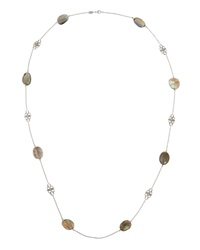 Penny Preville Faceted Labradorite And Diamond Necklace 36