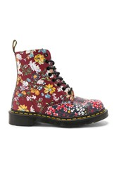 Dr. Martens Pascal Fc 8 Eye Booties Red