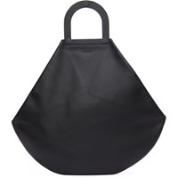 Building Block Black Stencil Tote