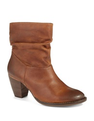 Steve Madden Welded Suede High Heel Boots Brown