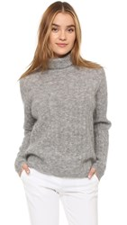 Just Female Glow Sweater Grey Melange