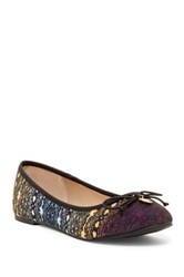 Nicole Miller Blue Mountains Bow Flat Multi
