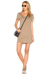 Nation Ltd. Layla Tee Dress Taupe