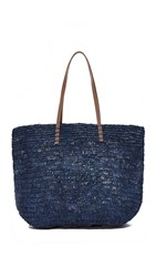 Hat Attack Ibiza Tote Navy Stripe