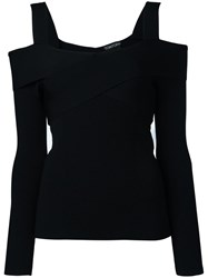 Tom Ford Wrap Detail Jumper Black