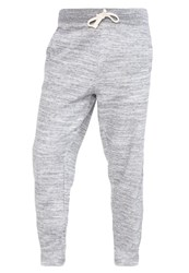 Gap Tracksuit Bottoms Space Dye Grey Marl Mottled Grey