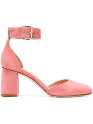 Red Valentino V Buckle Sandals Pink