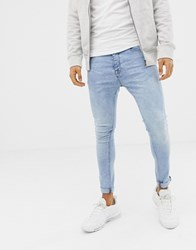 Voi Jeans Super Skinny In Light Blue