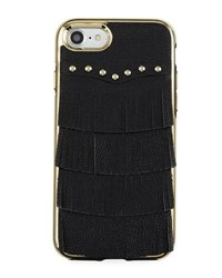 Rebecca Minkoff Fringe Leather Studded Iphone 7 Case Black Pattern