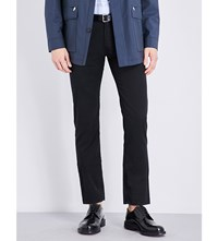 Brioni Meribel Regular Fit Tapered Jeans Black