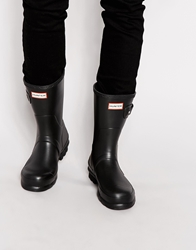 Hunter Original Short Wellington Boots Black