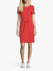 Betty Barclay Sporty Pull On Dress Hibiscus Red
