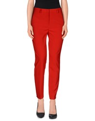 Reversible Trousers Casual Trousers Women Red